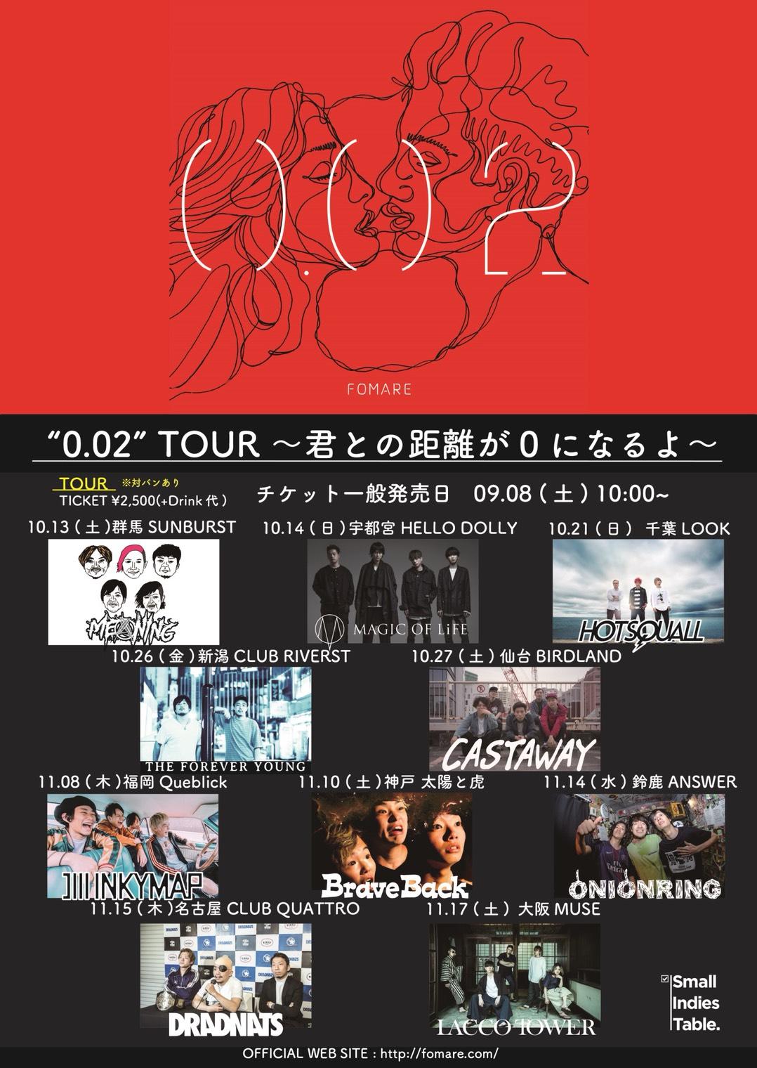 FOMARE 0.02 tour