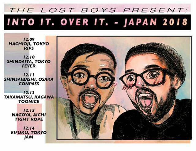 INTO IT. OVER IT. JAPAN TOUR2018