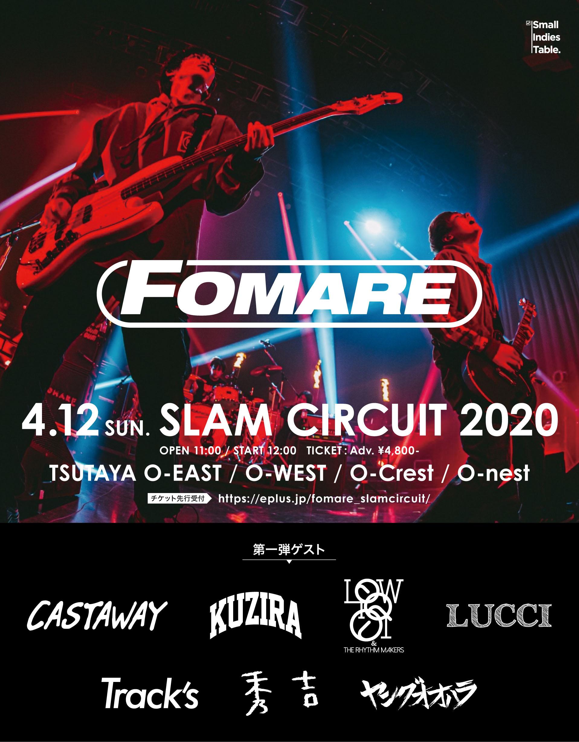 FOMARE SLAM CIRCUIT 2020