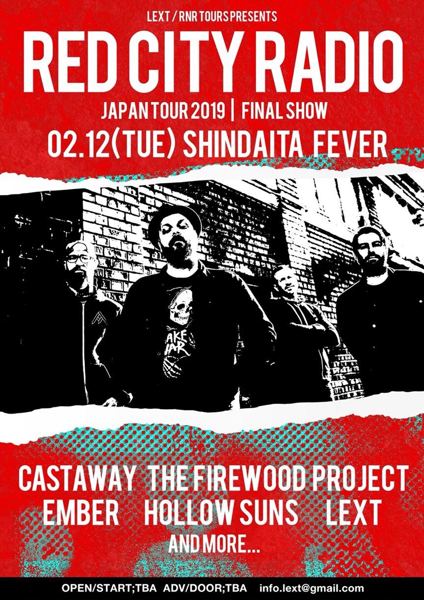 LEXT pre. RED CITY RADIO japan tour FINAL